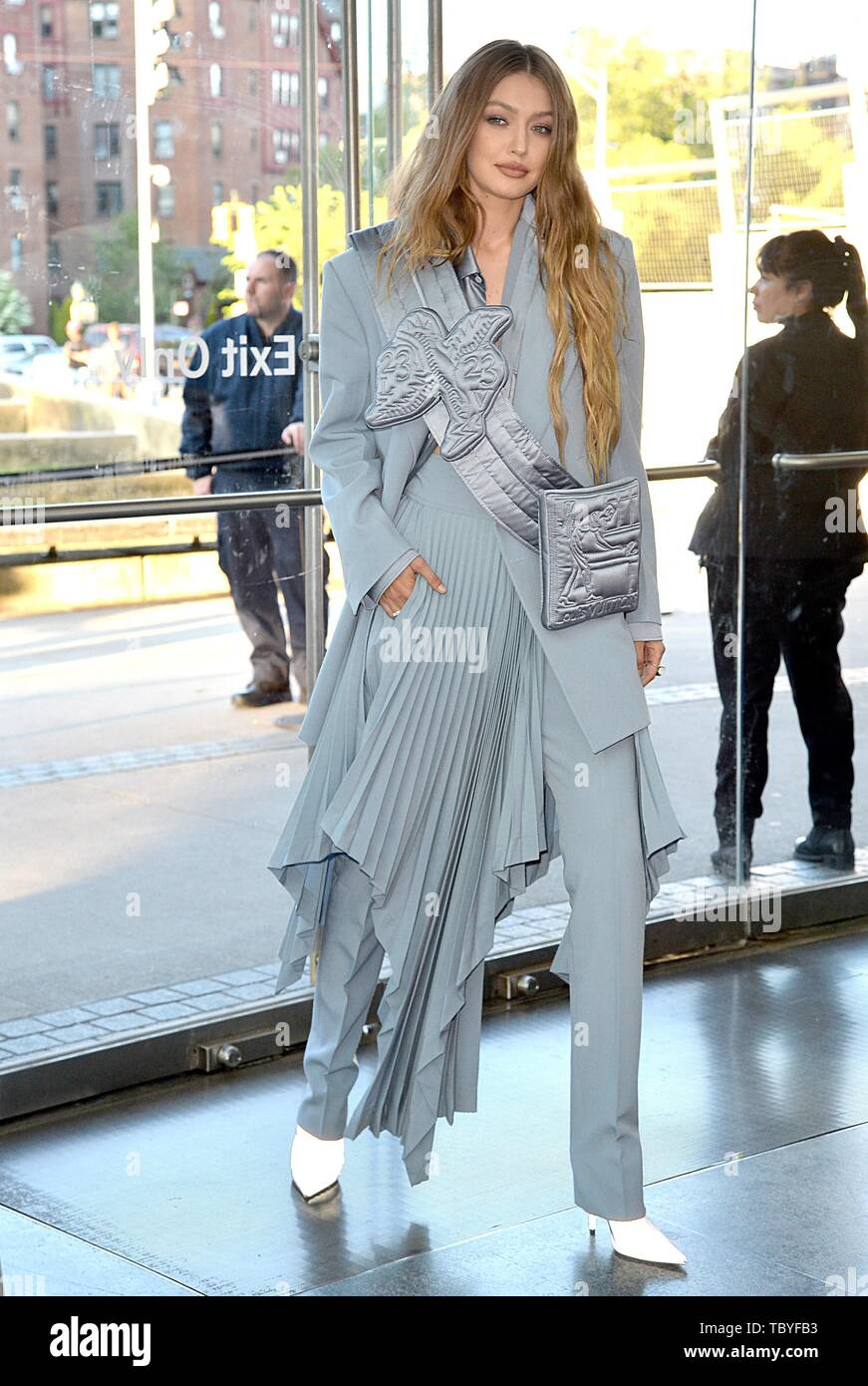 Gigi Hadid at arrivals for 2019 Council of Fashion Designers