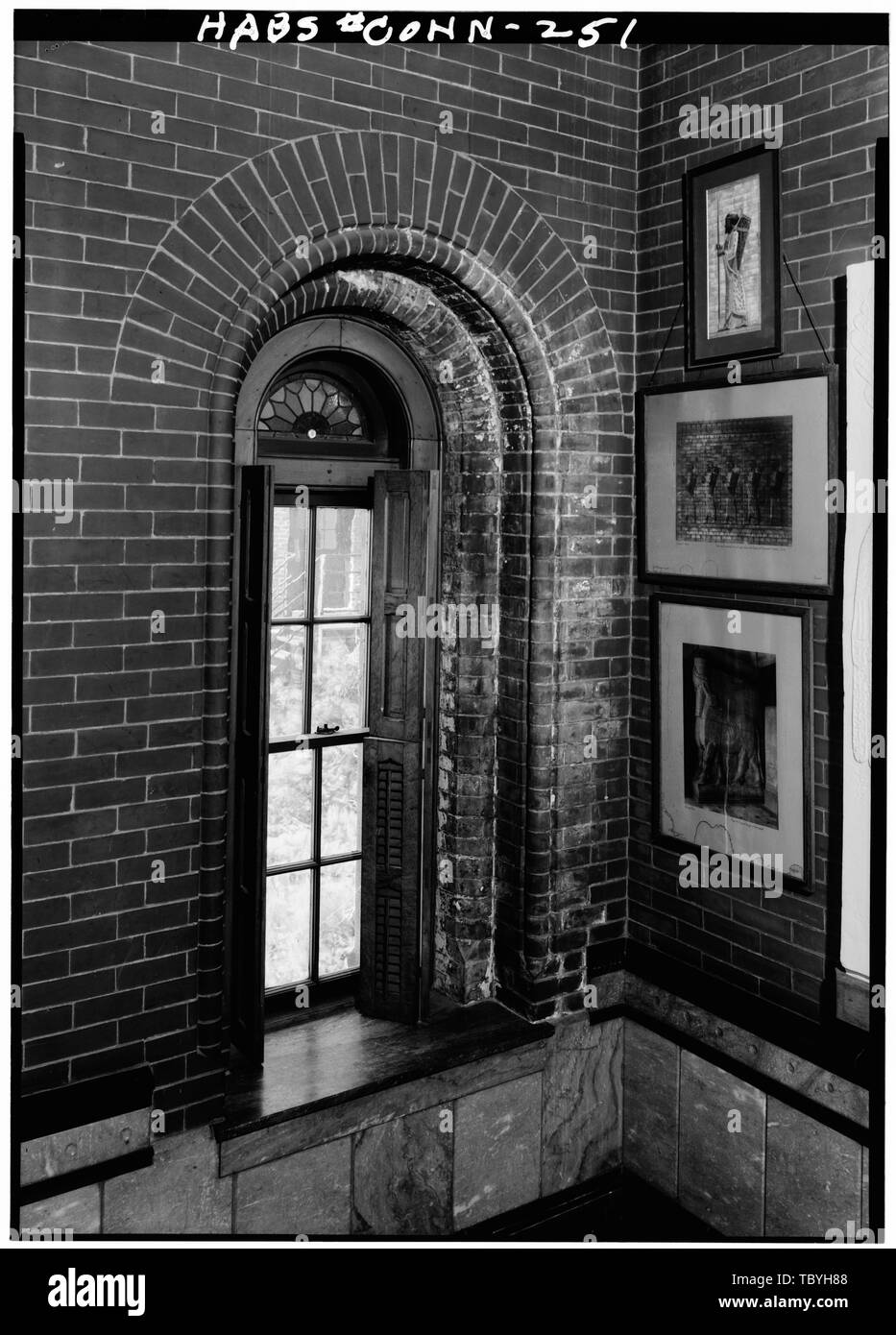 March 1961 Interior Of Typical Small Window With Round Head