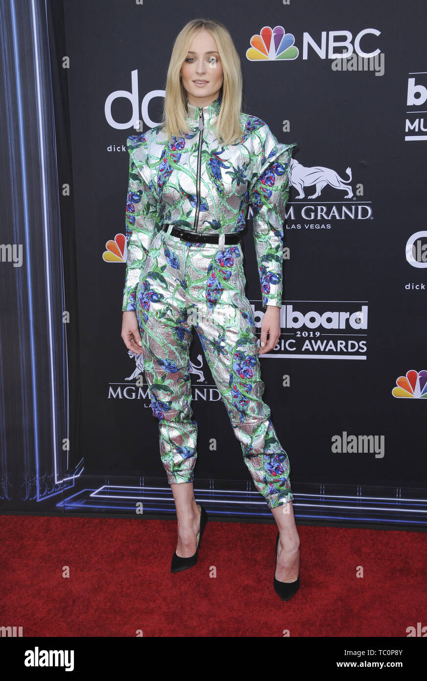 The 2019 Billboard Music Awards Arrivals  Featuring: Sophie Turner Where: Los Angeles, California, United States When: 02 May 2019 Credit: Apega/WENN.com - Stock Image