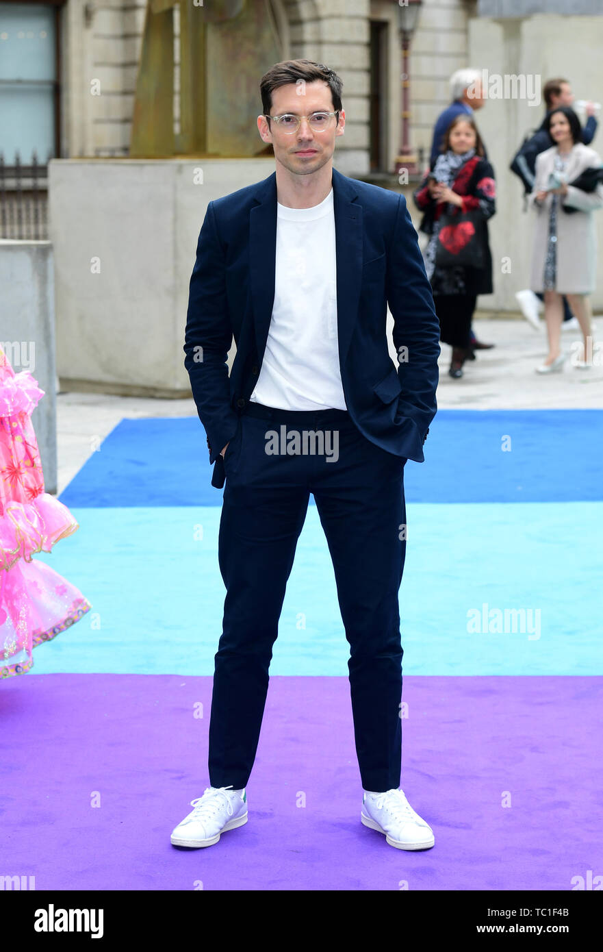 Erdem Moralioglu attending the Royal Academy of Arts Summer Exhibition Preview Party held at Burlington House, London. - Stock Image
