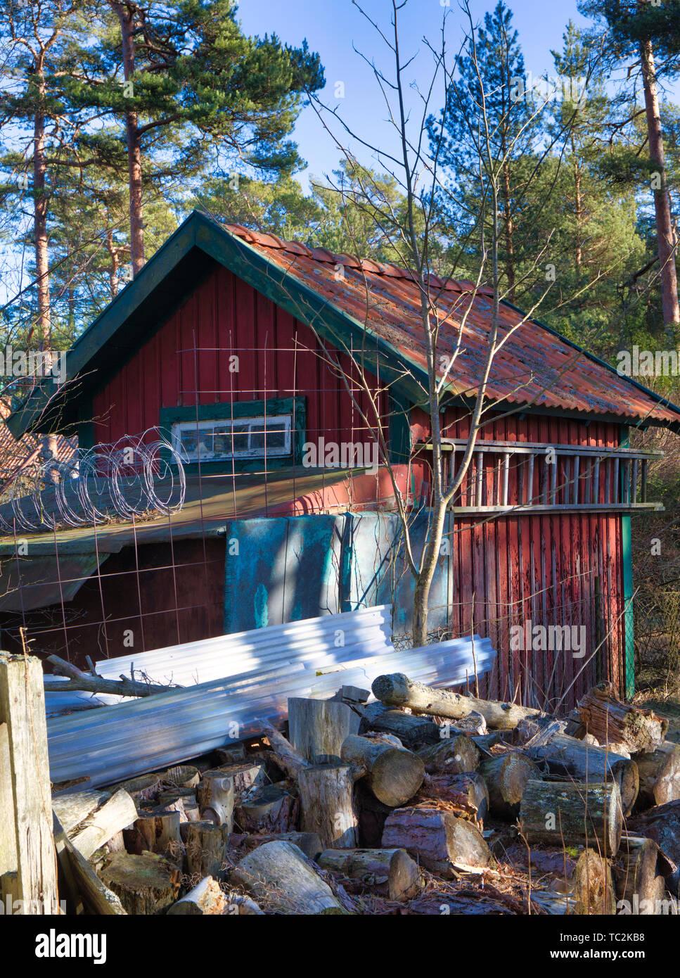 Sandhamn island, Stockholm archipelago, Sweden, Scandinavia - Stock Image