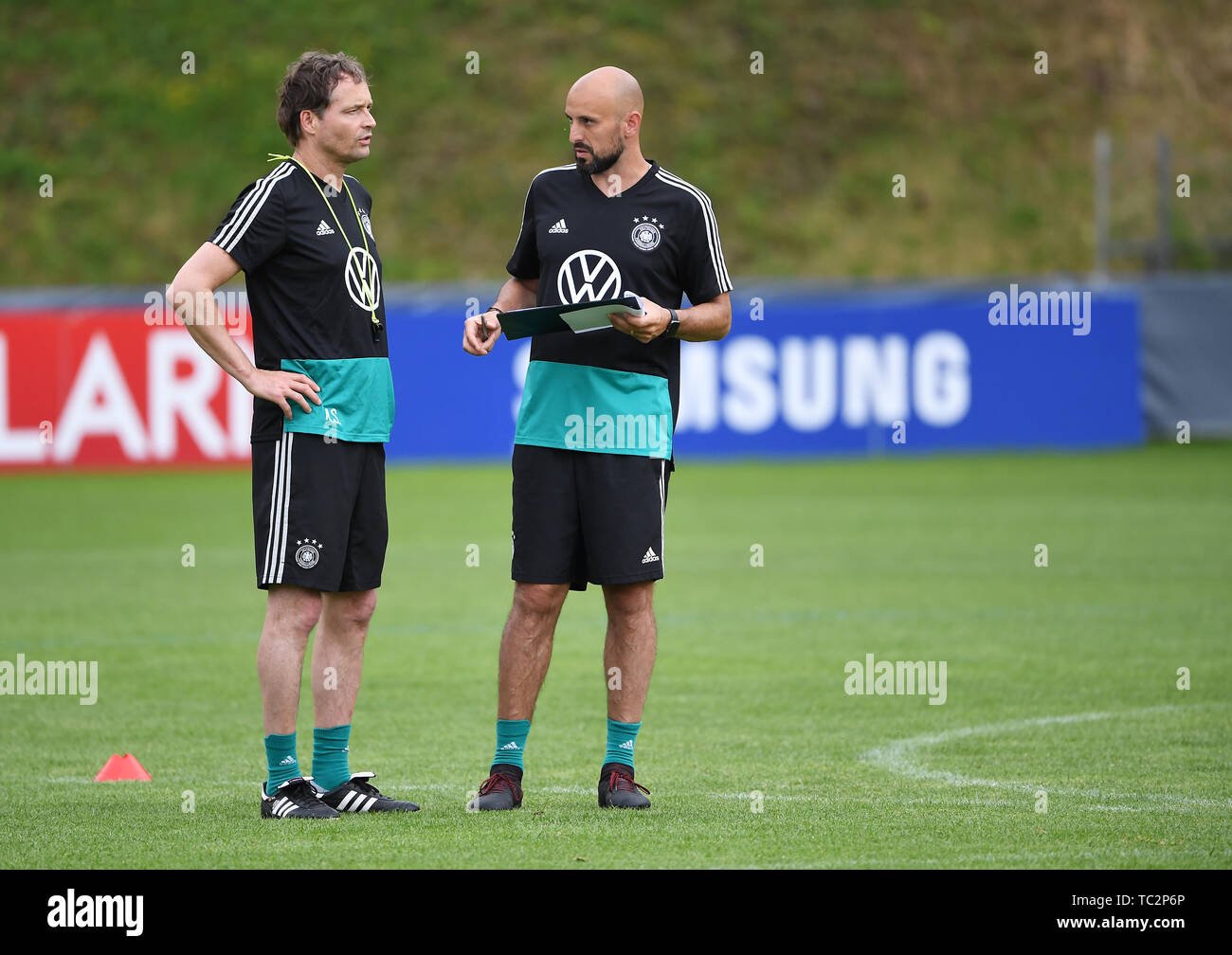 Assistant coach Marcus Sorg (G...