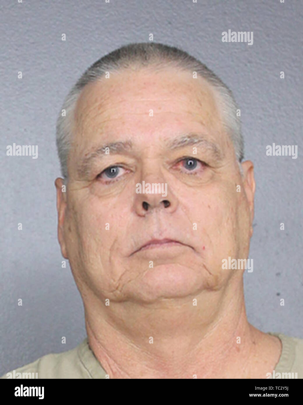 Fort Lauderdale ,Florida, USA. Police Mug shot hand out, People: Deputy Scot Peterson Credit: Storms Media Group/Alamy Live News - Stock Image