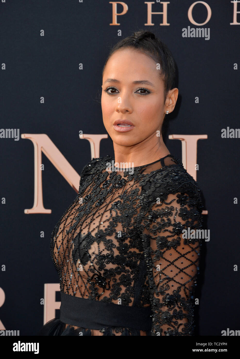 LOS ANGELES, USA  June 05, 2019: Dania Ramirez at the