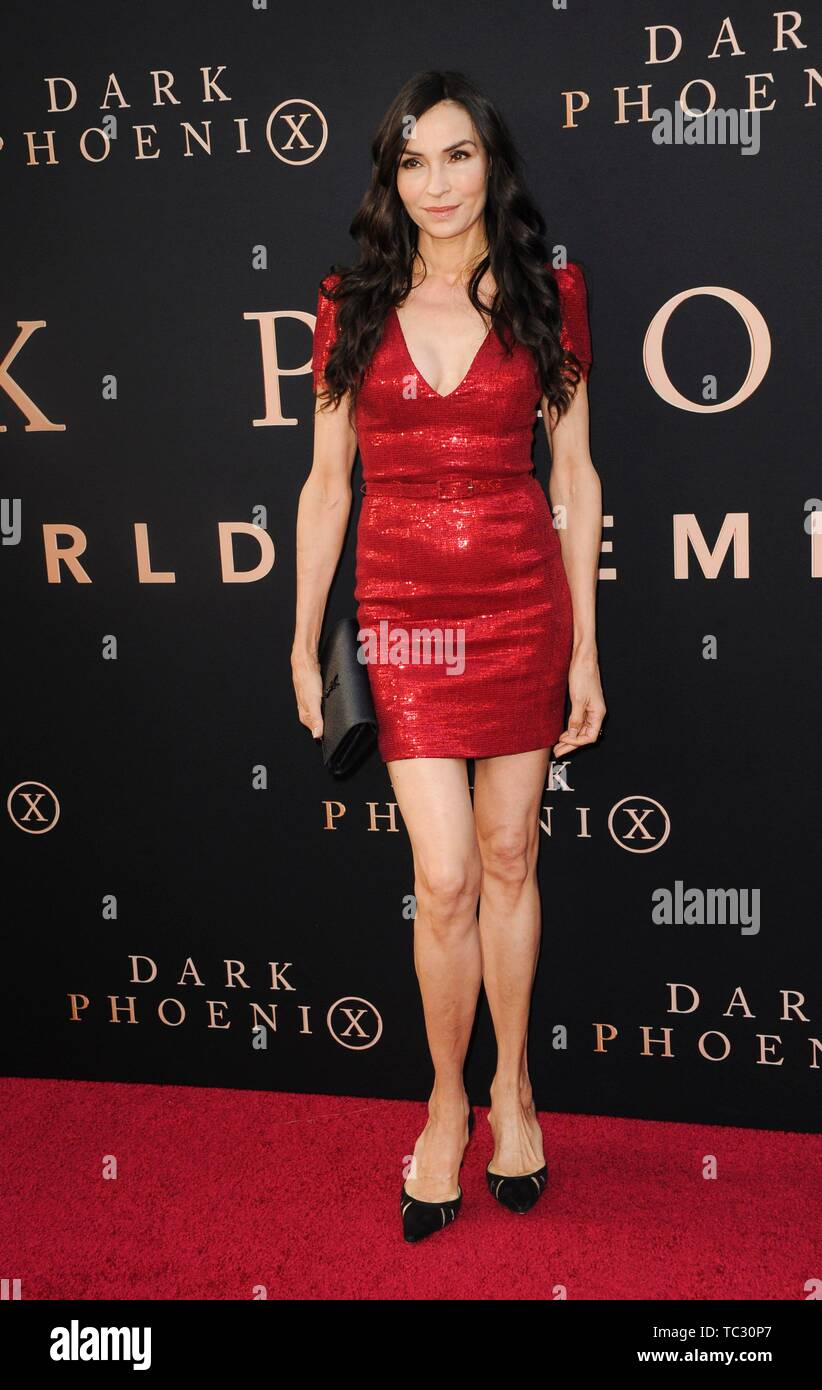 Los Angeles, CA, USA  4th June, 2019  Famke Janssen at