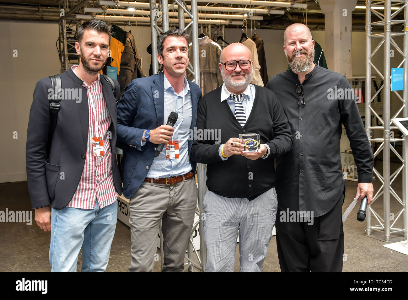 London, UK. 05th June, 2019. Aki Choklat is the winner of International Accessories Award of CCS - Detroit at the Graduate Fashion Week 2019 - Final Day, on 5 June 2019, Old Truman Brewery, London, UK. Credit: Picture Capital/Alamy Live News - Stock Image