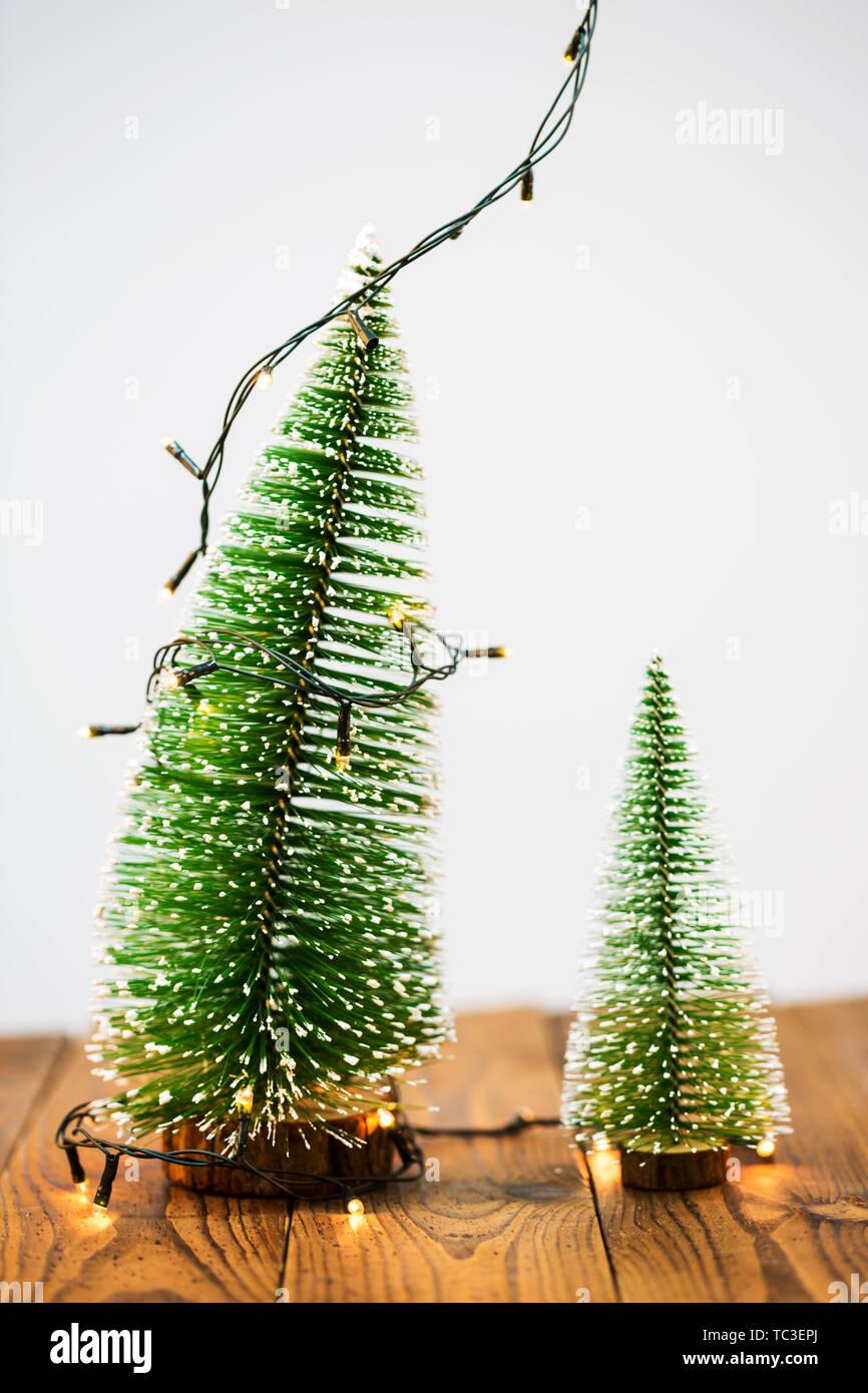 Beautiful Christmas Background Design.Christmas Tree And Christmas Lights Beautiful Christmas