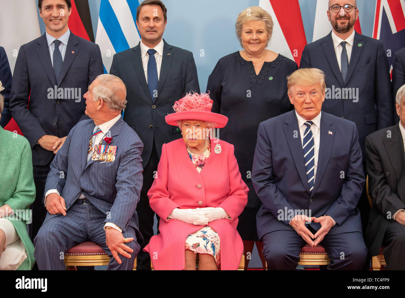 Back Row Left To Right Prime Minister Of Canada Justin Trudeau Prime Minister Of Luxembourg Xavier
