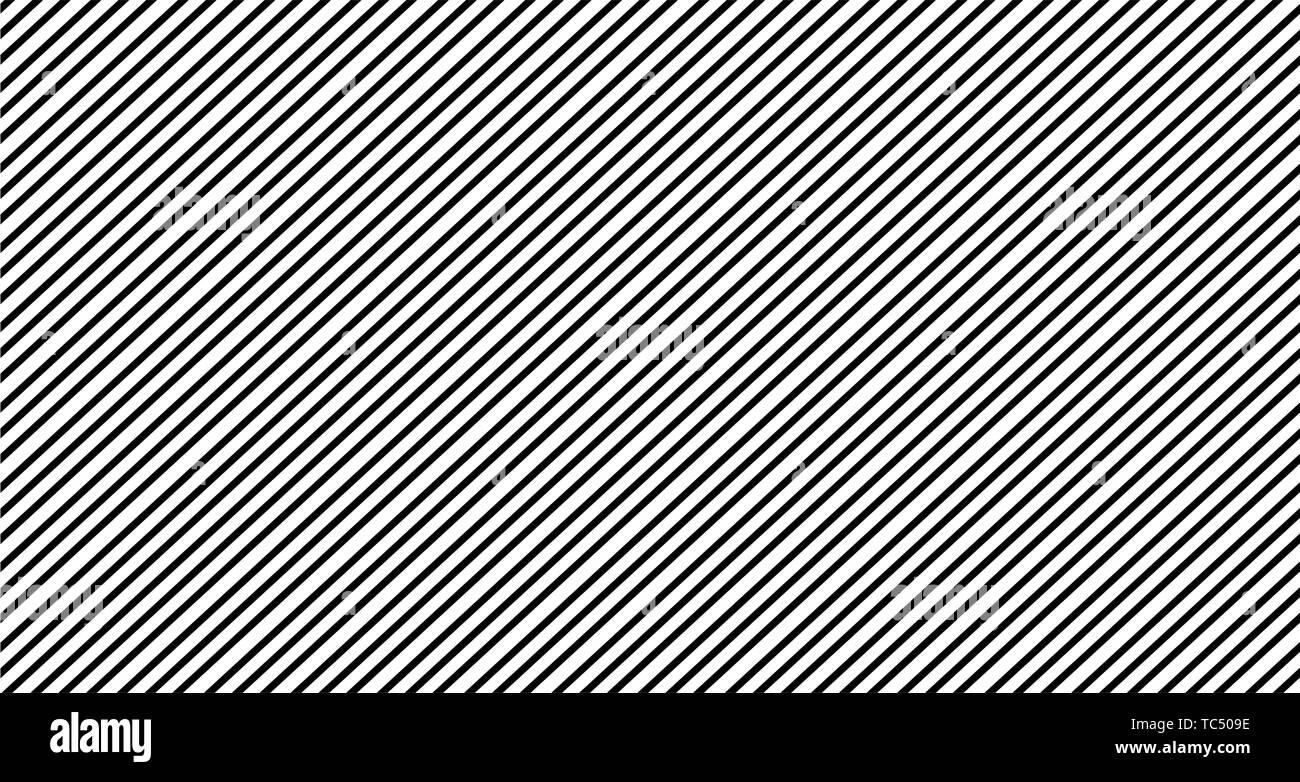 black white print vertical lines pattern minimalist background - Stock Image