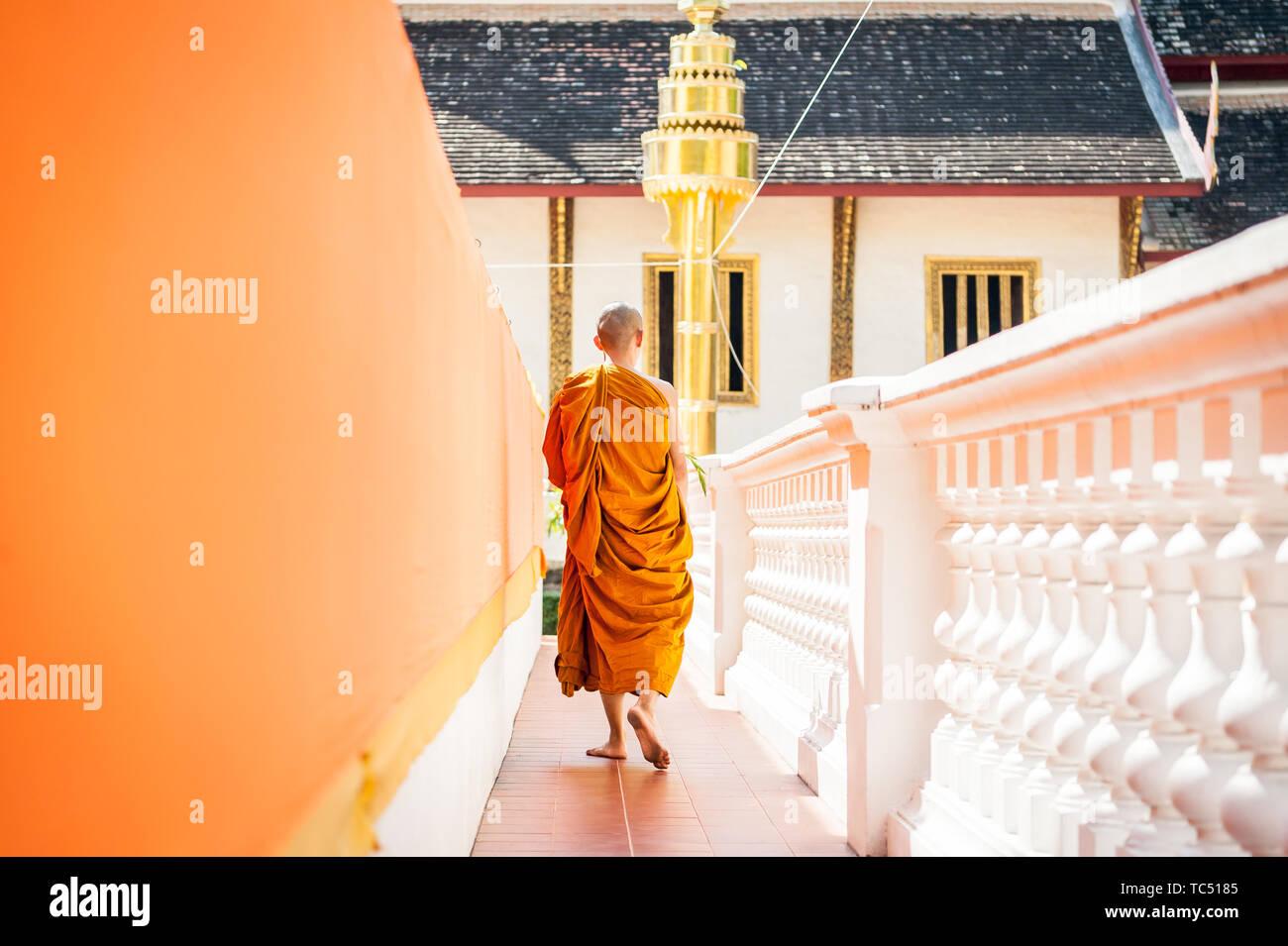 Wat Phra Singh Woramahavikarn Buddhist Temple Chiang Mai Thailand Stock Photo
