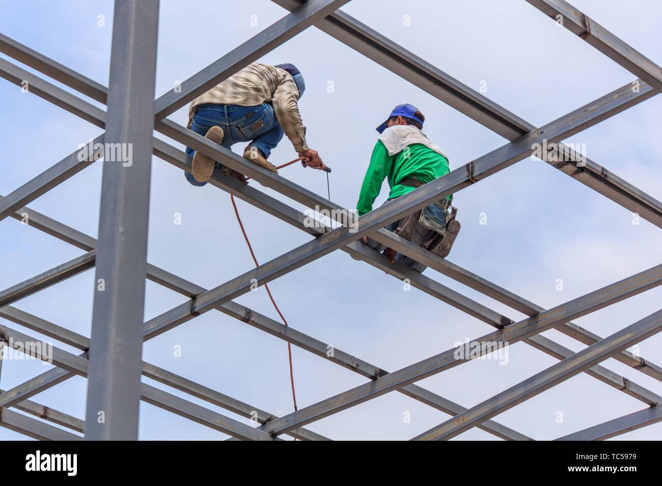 Stick Welder Work Stock Photos & Stick Welder Work Stock