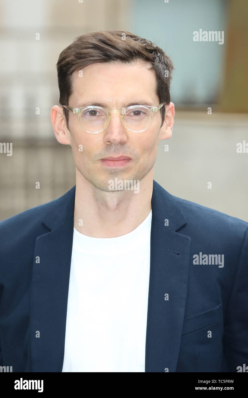 Erdem Moralioglu, Royal Academy of Arts Summer Exhibition Preview Party, Royal Academy Burlington House, London, UK, 04 June 2019, Photo by Richard Go - Stock Image