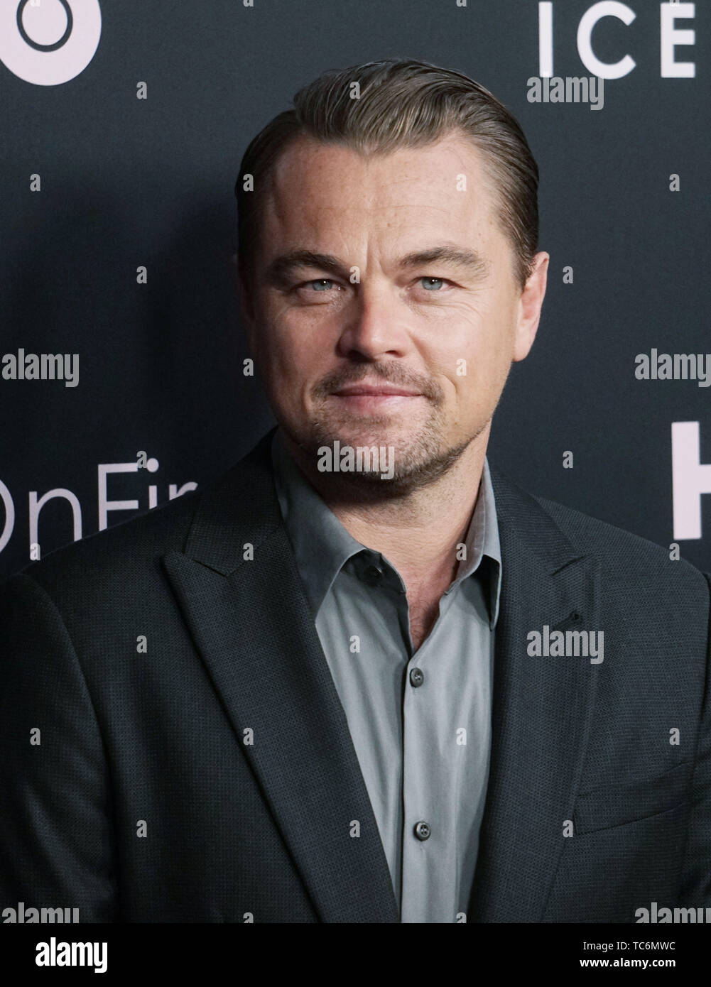 Los Angeles, USA. 05th June, 2019. Leonardo DiCaprio 001 arrives at the LA Premiere Of HBO's 'Ice On Fire' at LACMA on June 05, 2019 in Los Angeles, California. Credit: Tsuni/USA/Alamy Live News - Stock Image