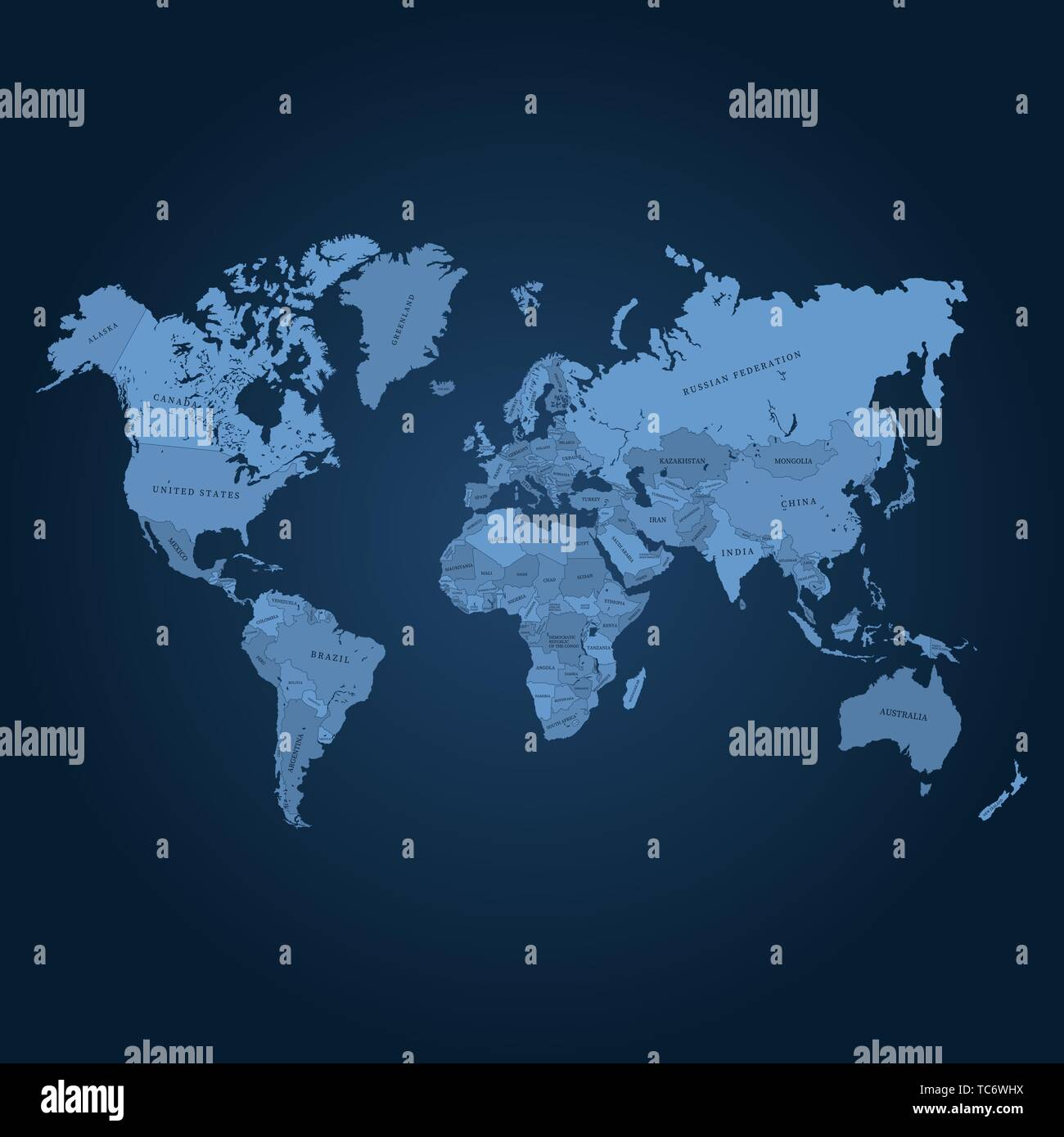 Accurate World Map Vector Vectors Stock Photos & Accurate ...