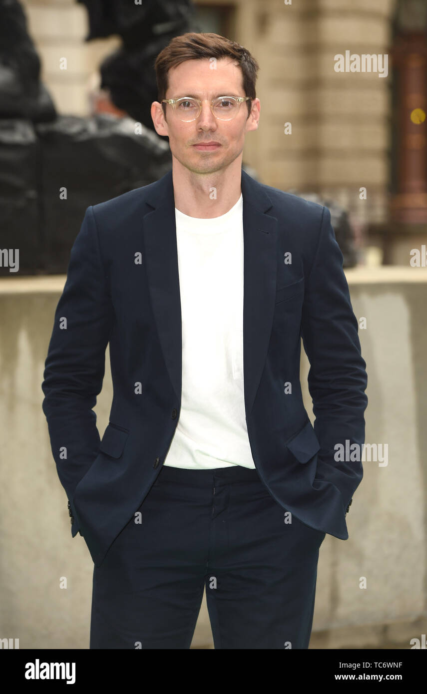 Photo Must Be Credited ©Alpha Press 079965 04/06/2019 Erdem Moralioglu Royal Academy of Arts Summer Exhibition Preview Party 2019 In London - Stock Image