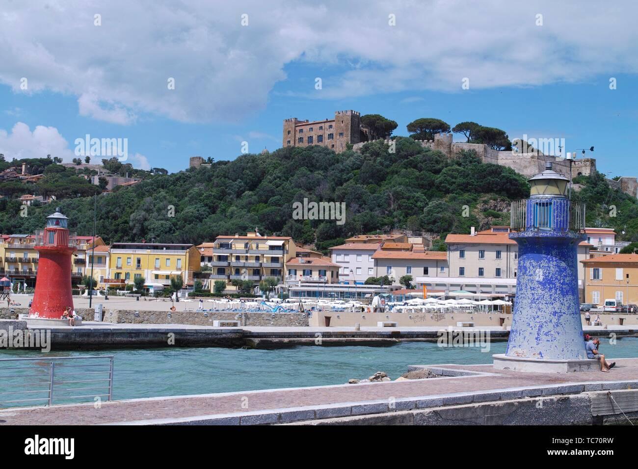 Castiglione della Pescaia, province of Grosseto, Tuscany, Italy - Stock Image