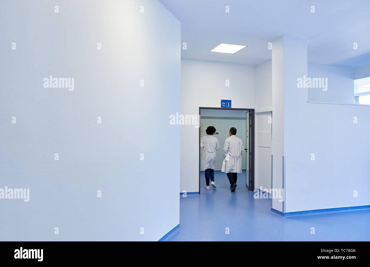 Radiology, Hospital Donostia, San Sebastian, Gipuzkoa, Basque Country, Spain - Stock Image