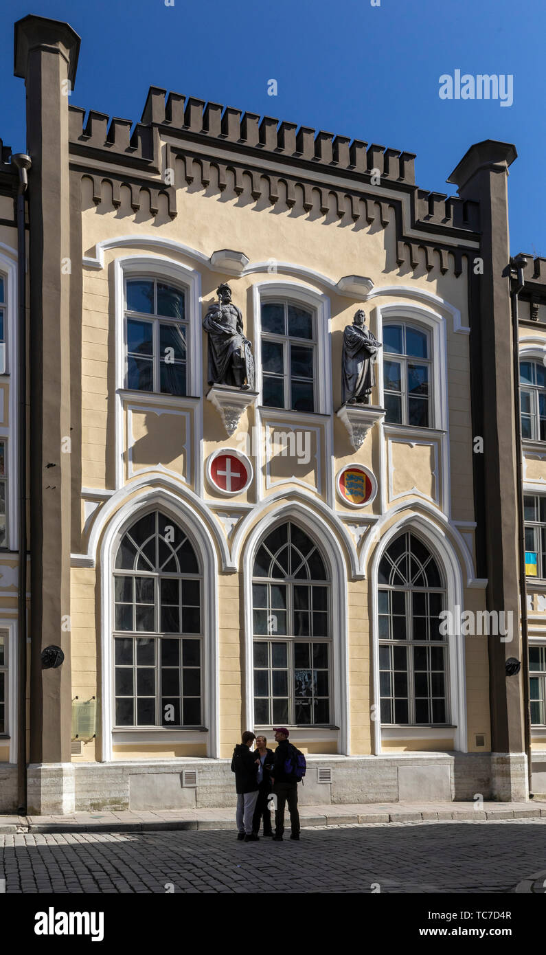 St Canute Guildhall, Pikk, Tallinn, Estonia - Stock Image