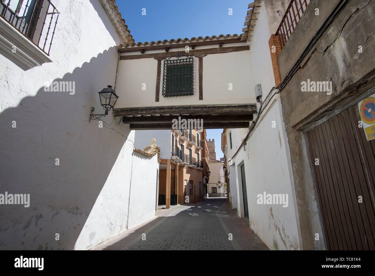 San Clemente town in Cuenca Castile La Mancha Spain. Stock Photo