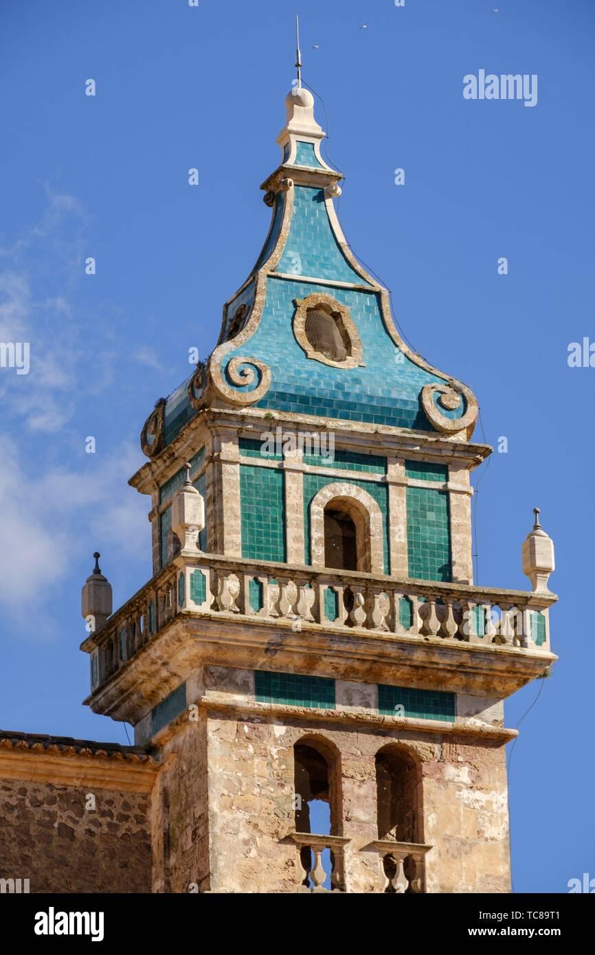cartuja de Valldemosa, la Cartoixa de Valldemossa, Mallorca, Balearic islands, spain. Stock Photo