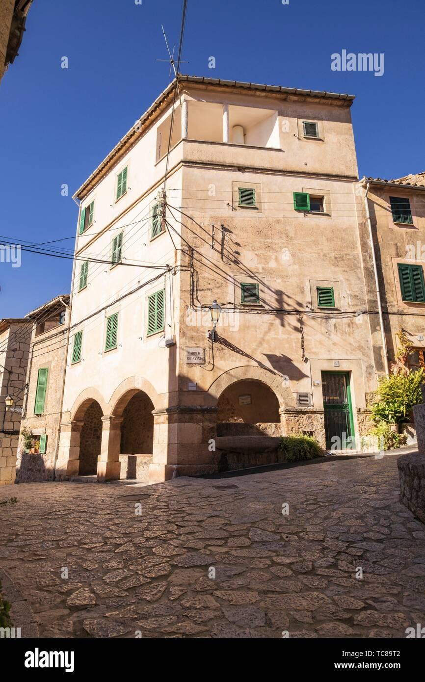 l Abeurador, Valldemossa, Mallorca, Balearic islands, spain. - Stock Image