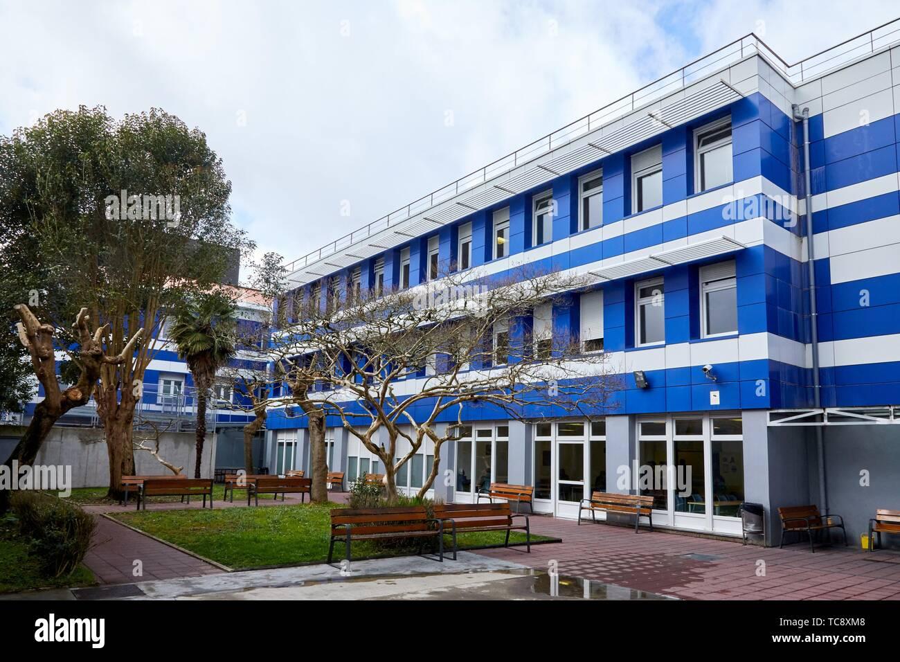 Psychiatry Building, Hospital Donostia, San Sebastian, Gipuzkoa, Basque Country, Spain - Stock Image