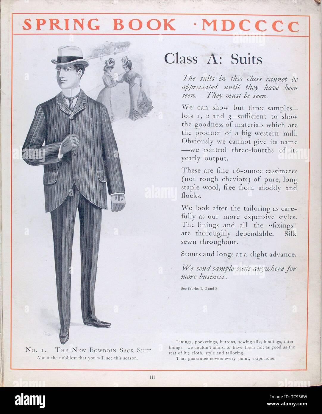 Union Sack Coat Pattern