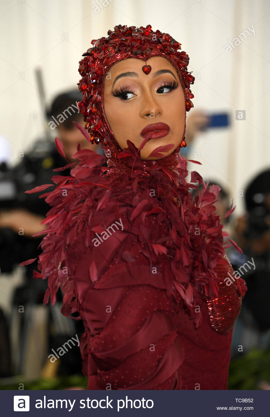 File photo dated 07/05/19 of Cardi B, who has pulled out of her headline slot at the Parklife music festival, organisers said. - Stock Image