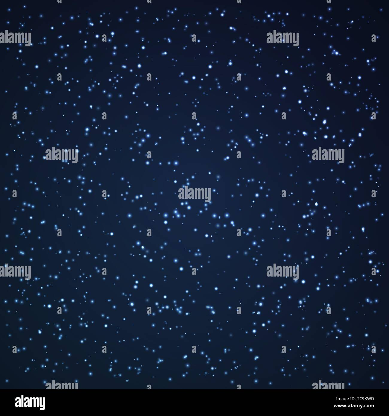 Background with shooting stars. Vector illustration. Space pattern - Stock Vector