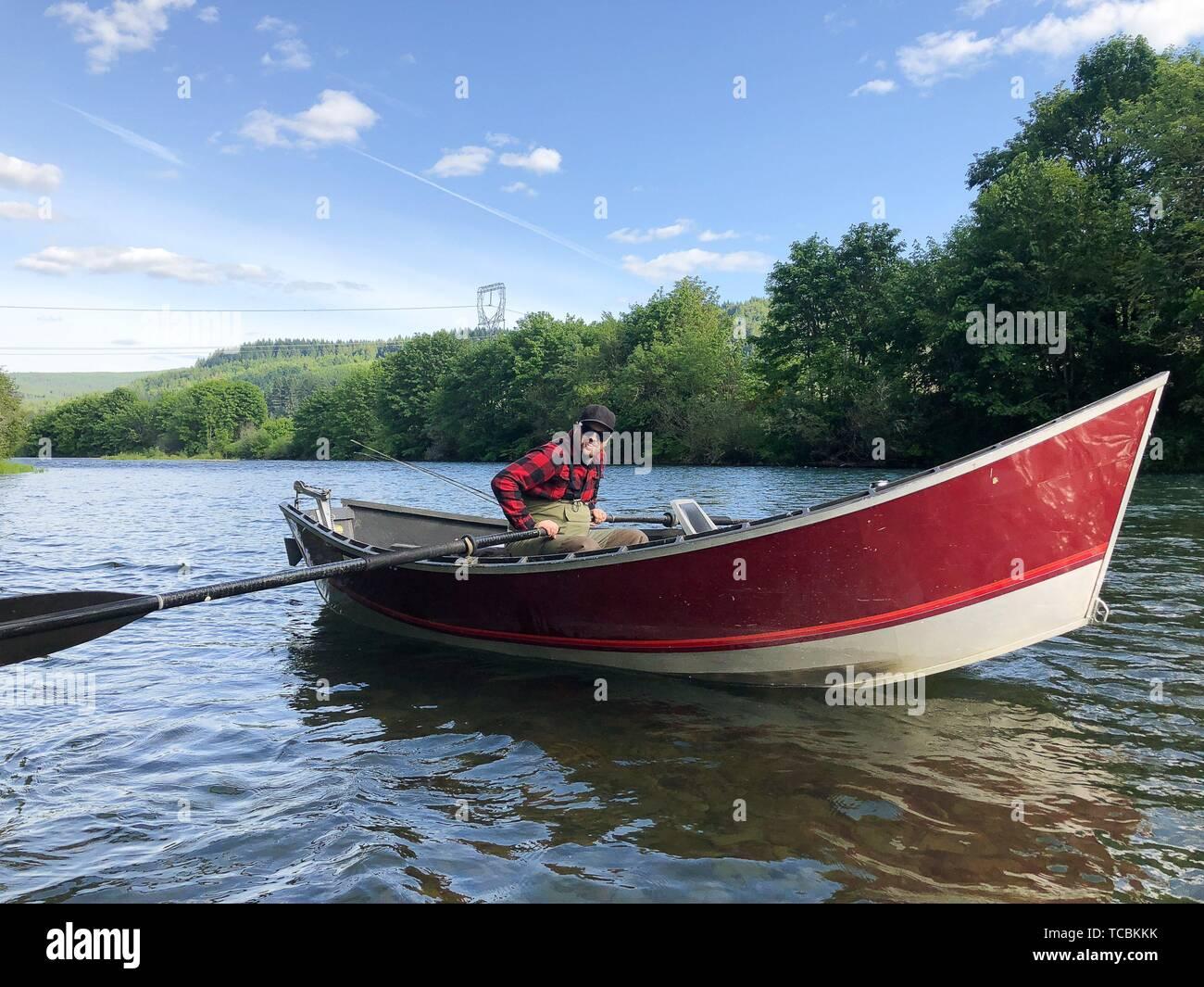 Drift Boat Stock Photos & Drift Boat Stock Images - Alamy