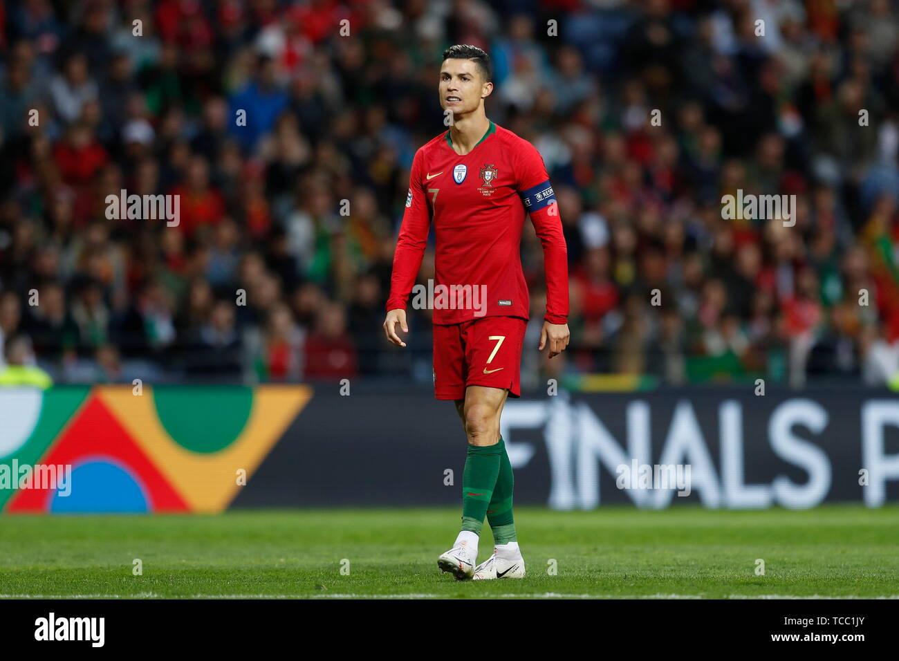 5a58f89b98824b Cristiano Ronaldo (POR) Football/Soccer : UEFA Nations League Semi-finals  match between Portugal 3-1 Switzerland at the Estadio do Dragao in Porto,  ...