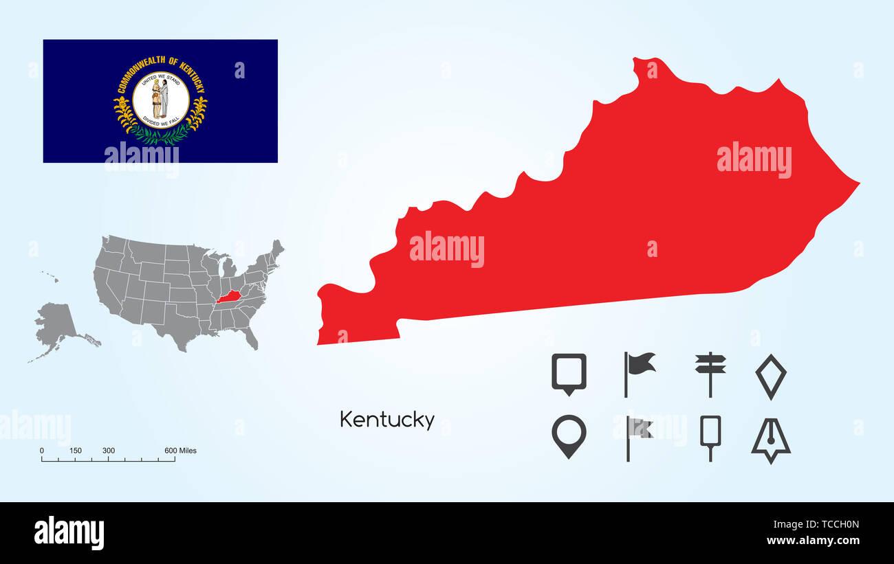 Kentucky Map Stock Photos & Kentucky Map Stock Images - Alamy on map of kentucky universities, map indiana in usa, map of kentucky elsewhere, map ohio in usa, map of kentucky paris,