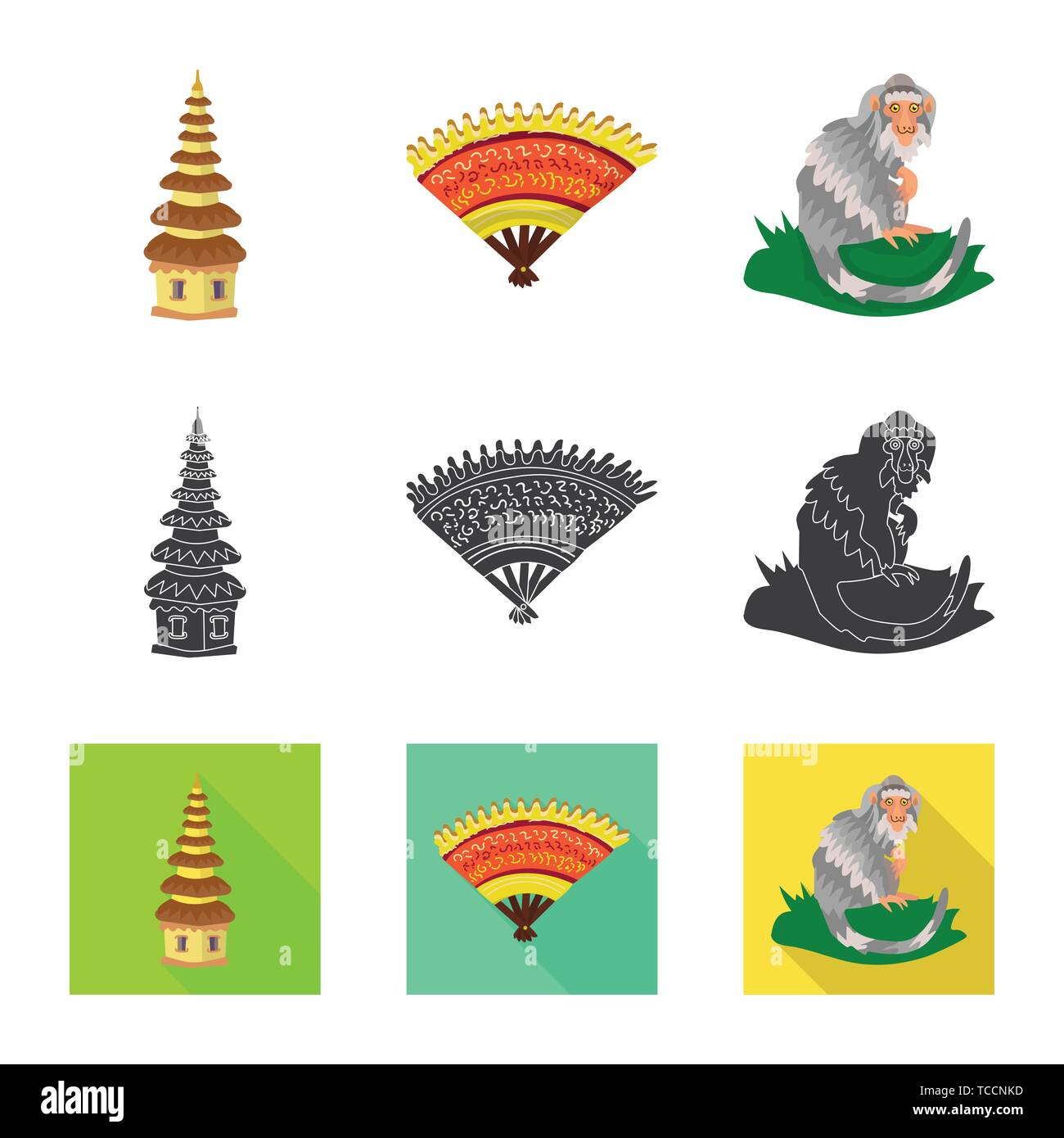 Temple Fan Monkey Landmark Beautiful Animal Pura Summer Jungle Hindu Vintage Ape Architecture Cloth Tropical Pray Embroidery Tail Culture Traditions Zoo Building Wind Safari Ancient Fresh Wild Religion Gesture Marmoset Travel Tourism Traditional Island