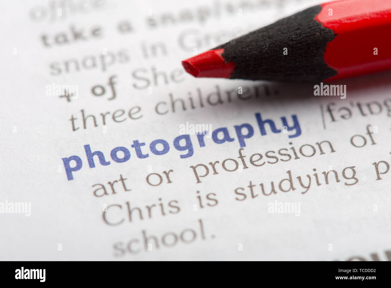 Dictionary definition of word Stock Photo: 248616958 - Alamy