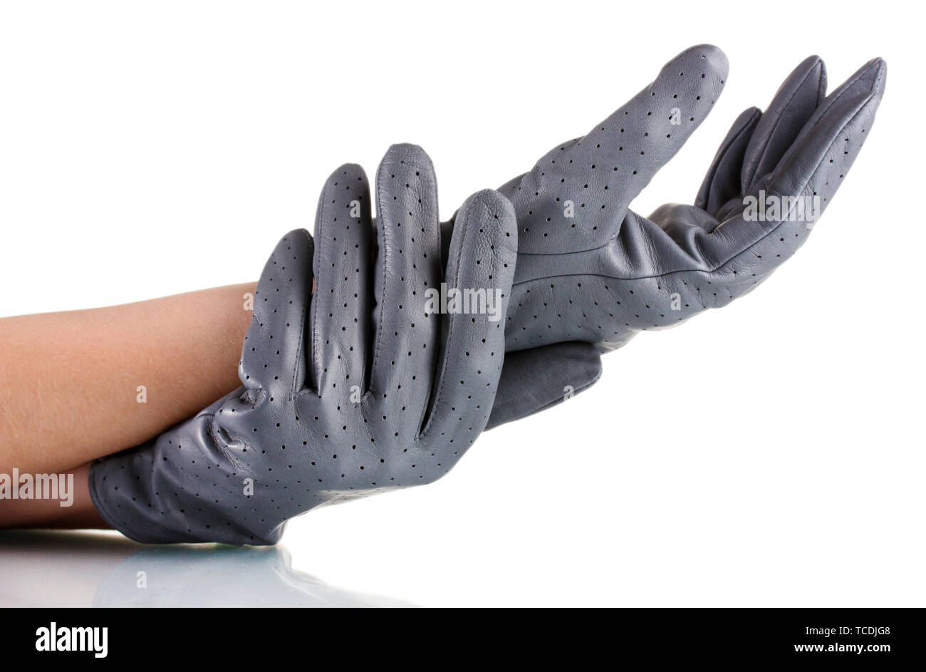 67010a2f6 Hand Hands Female Leather Gloves Stock Photos & Hand Hands Female ...