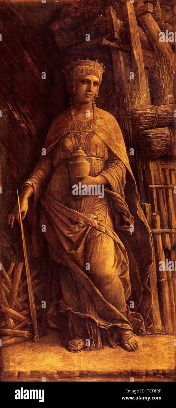 Andrea Mantegna - Dido 1500 - Stock Image