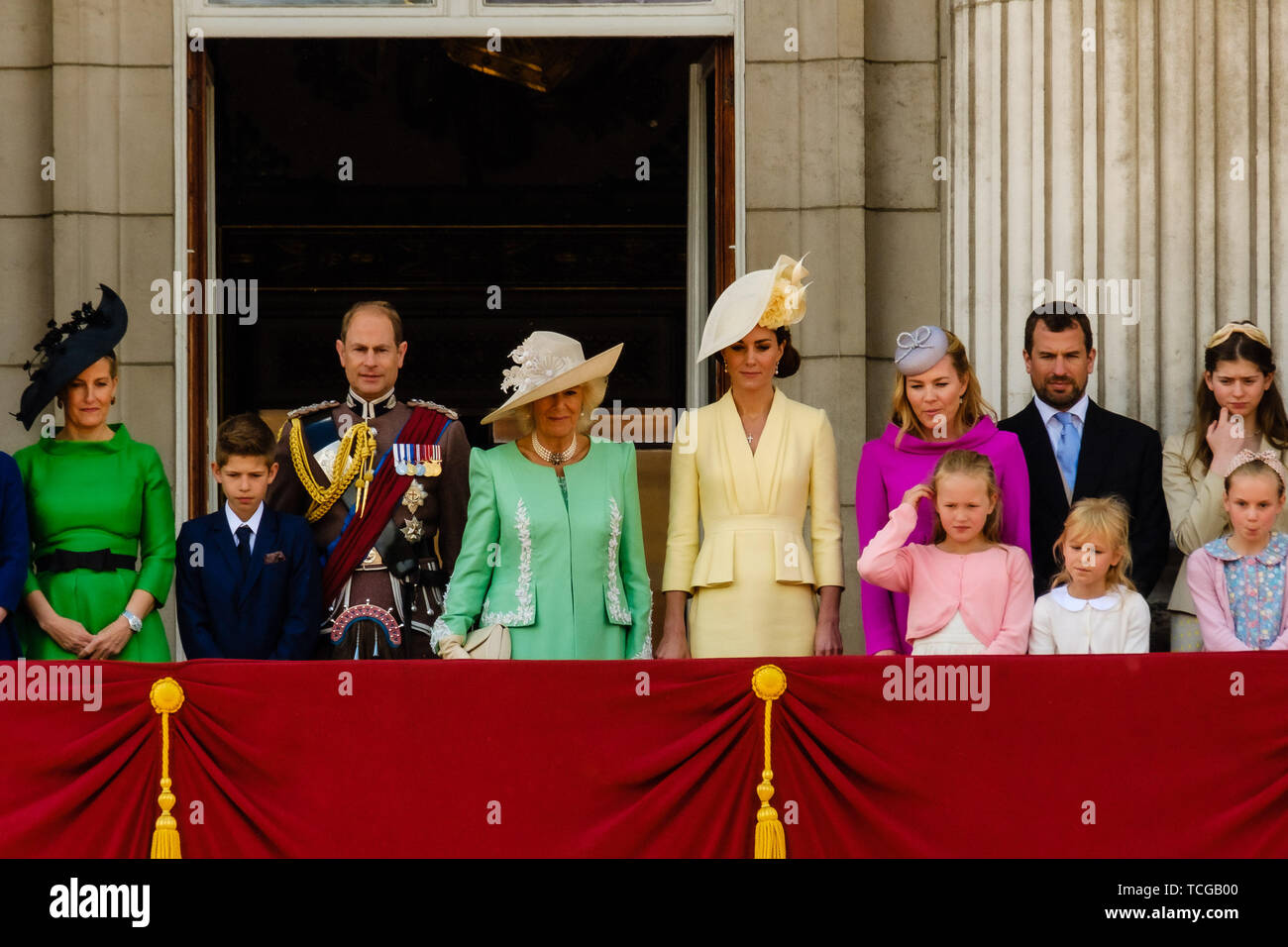 London, UK  08th June, 2019  Members of the Royal Family