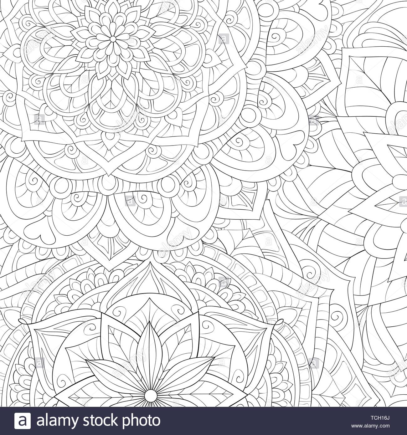 A Floral Abstract Background Image For Relaxing Activity A