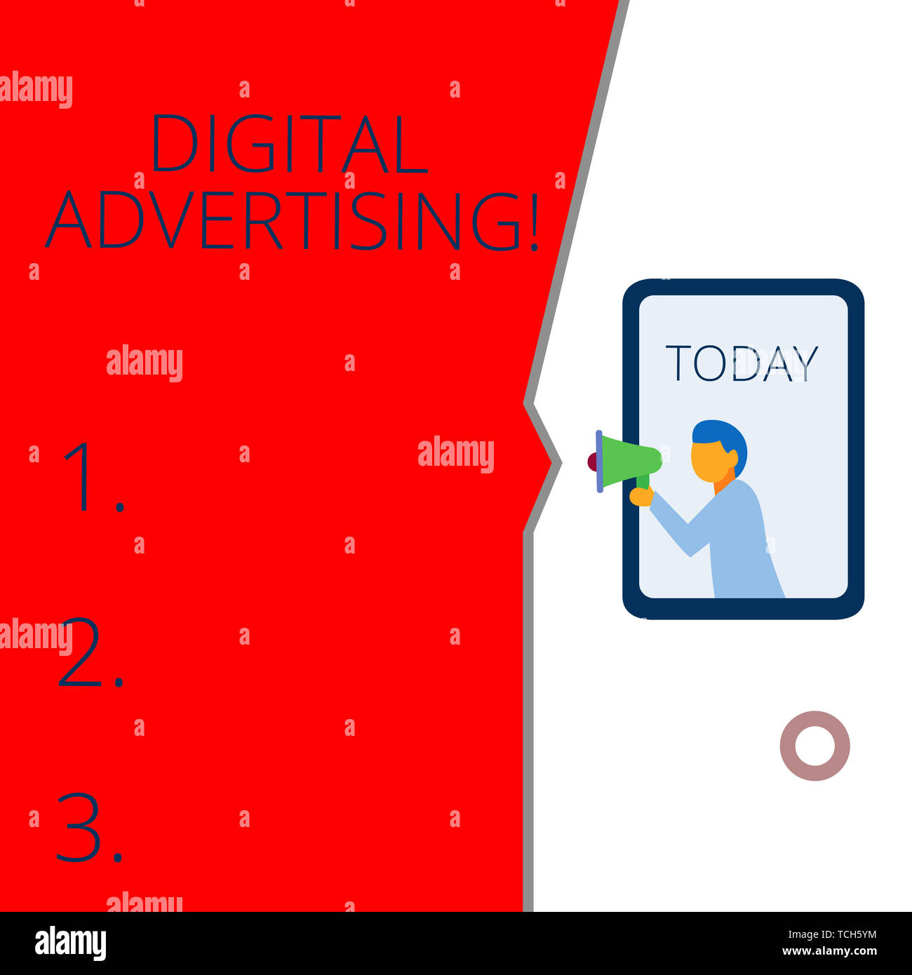 Conceptual hand writing showing Digital Advertising  Concept