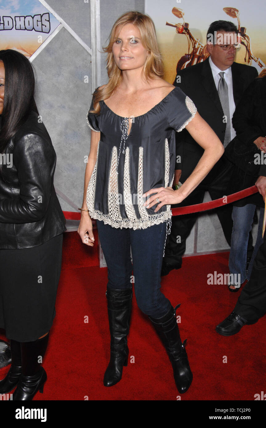 """LOS ANGELES, CA. February 27, 2007: Mariel Hemingway at the world premiere of """"Wild Hogs"""" at the El Capitan Theatre, Hollywood. © 2007 Paul Smith / Featureflash Stock Photo"""