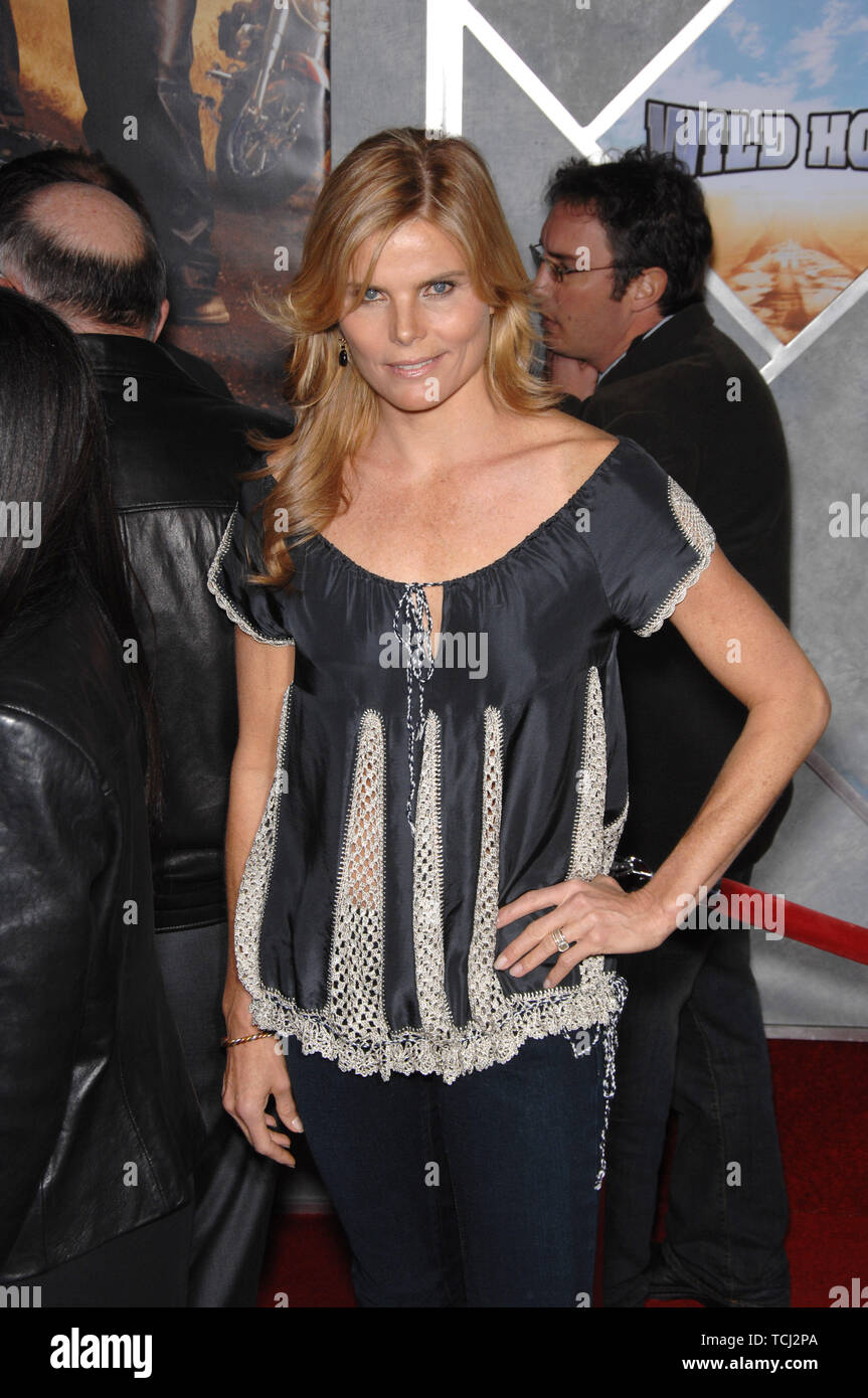 "LOS ANGELES, CA. February 27, 2007: Mariel Hemingway at the world premiere of ""Wild Hogs"" at the El Capitan Theatre, Hollywood. © 2007 Paul Smith / Featureflash Stock Photo"