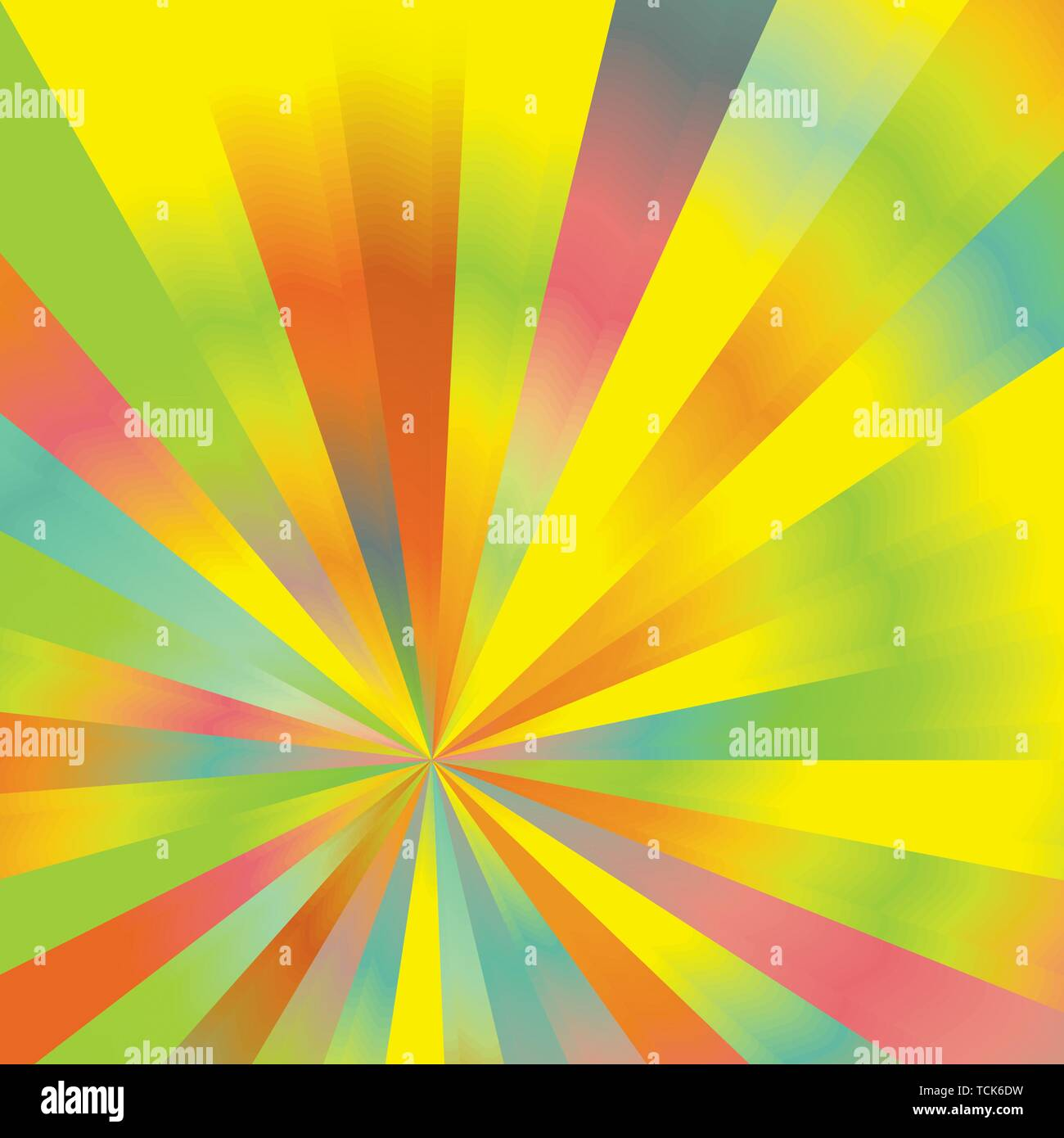 Colorful Abstract Sunburst Rays Background Pattern Texture. Modern Concept In Vector .EPS File Without Raster Effects. - Stock Image