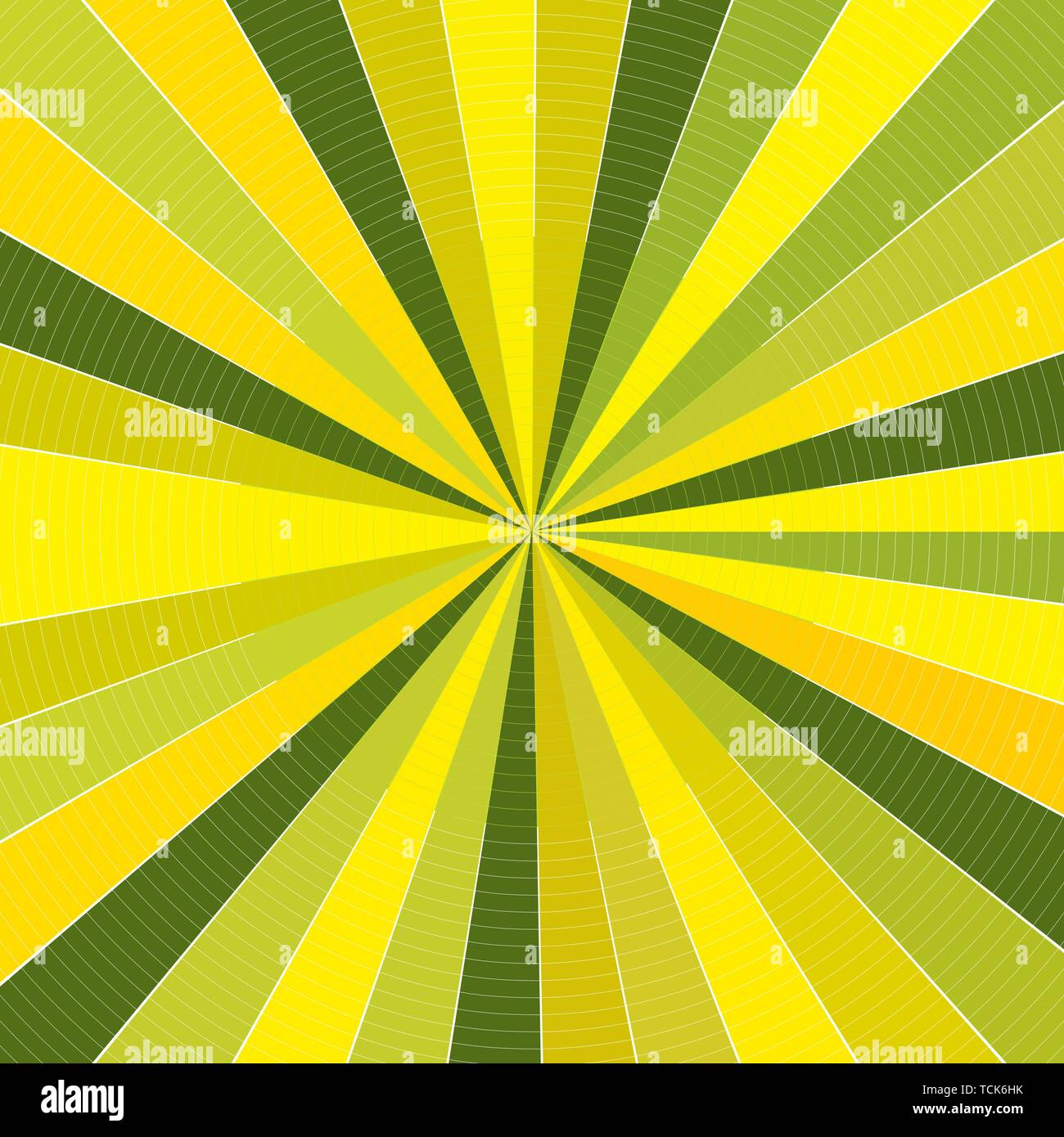 Colorful Abstract Sunburst Rays Fabric Interior Background Pattern Texture. Modern Concept In Vector .EPS file. No Raster. - Stock Image