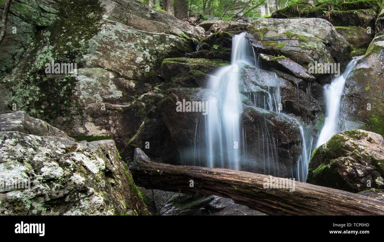 Waterfall And Swimming Hole Stock Photos & Waterfall And