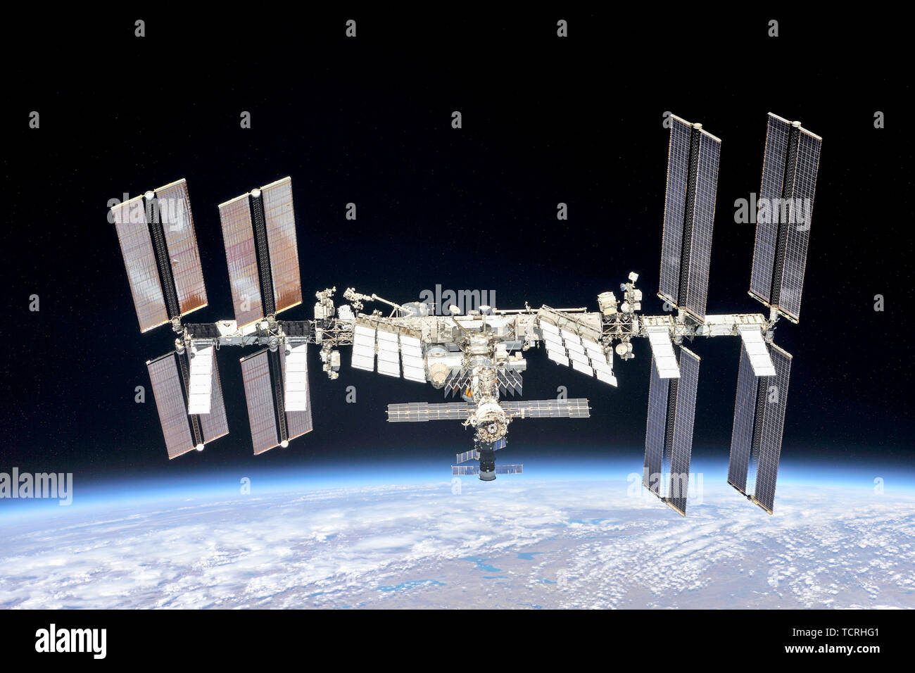International Space Station, ISS - Stock Image