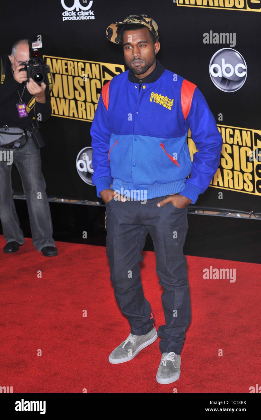 LOS ANGELES, CA. November 23, 2008: Kanye West at the 2008 ...