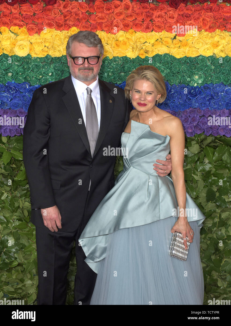 NEW YORK, NEW YORK - JUNE 09: Celia Keenan-Bolger attends the 73rd Annual Tony Awards at Radio City Music Hall on June 09, 2019 in New York City. Photo: Jeremy Smith/imageSPACE/MediaPunch - Stock Image