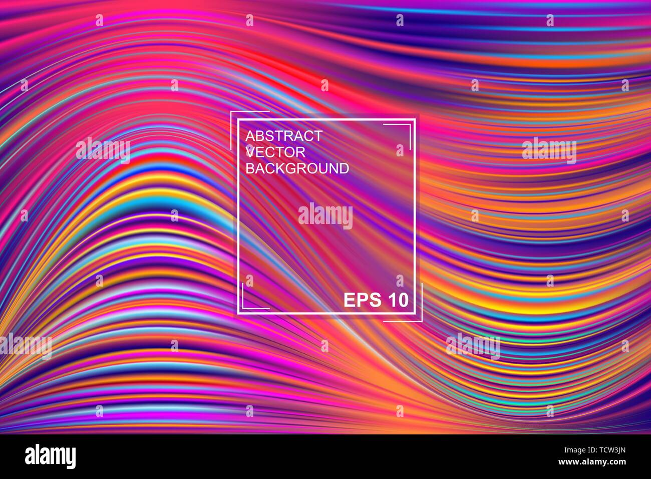 Abstract Vector Background With Beautiful Fancy Paint