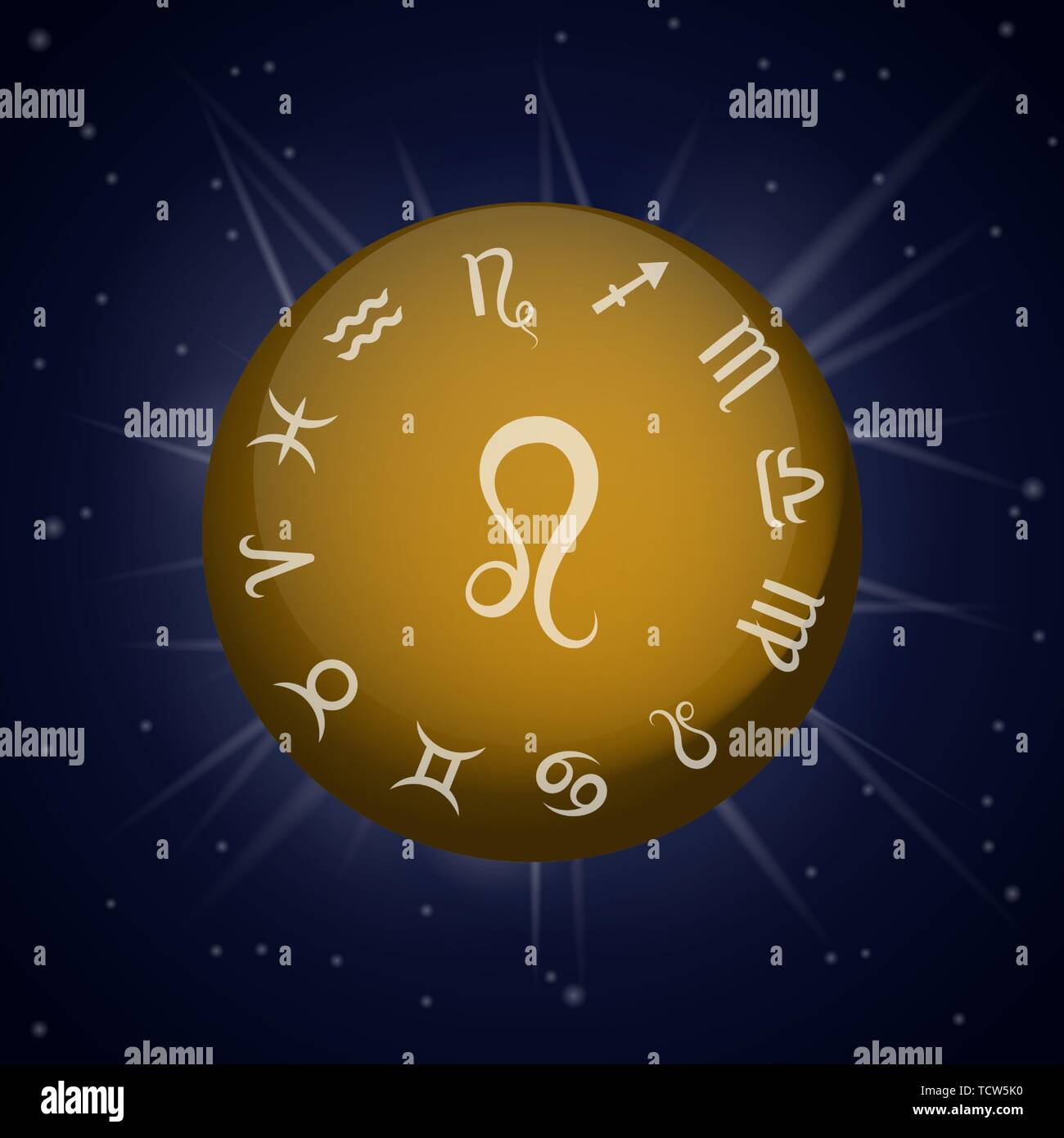 Zodiac Fire Sign Stock Photos & Zodiac Fire Sign Stock Images - Alamy