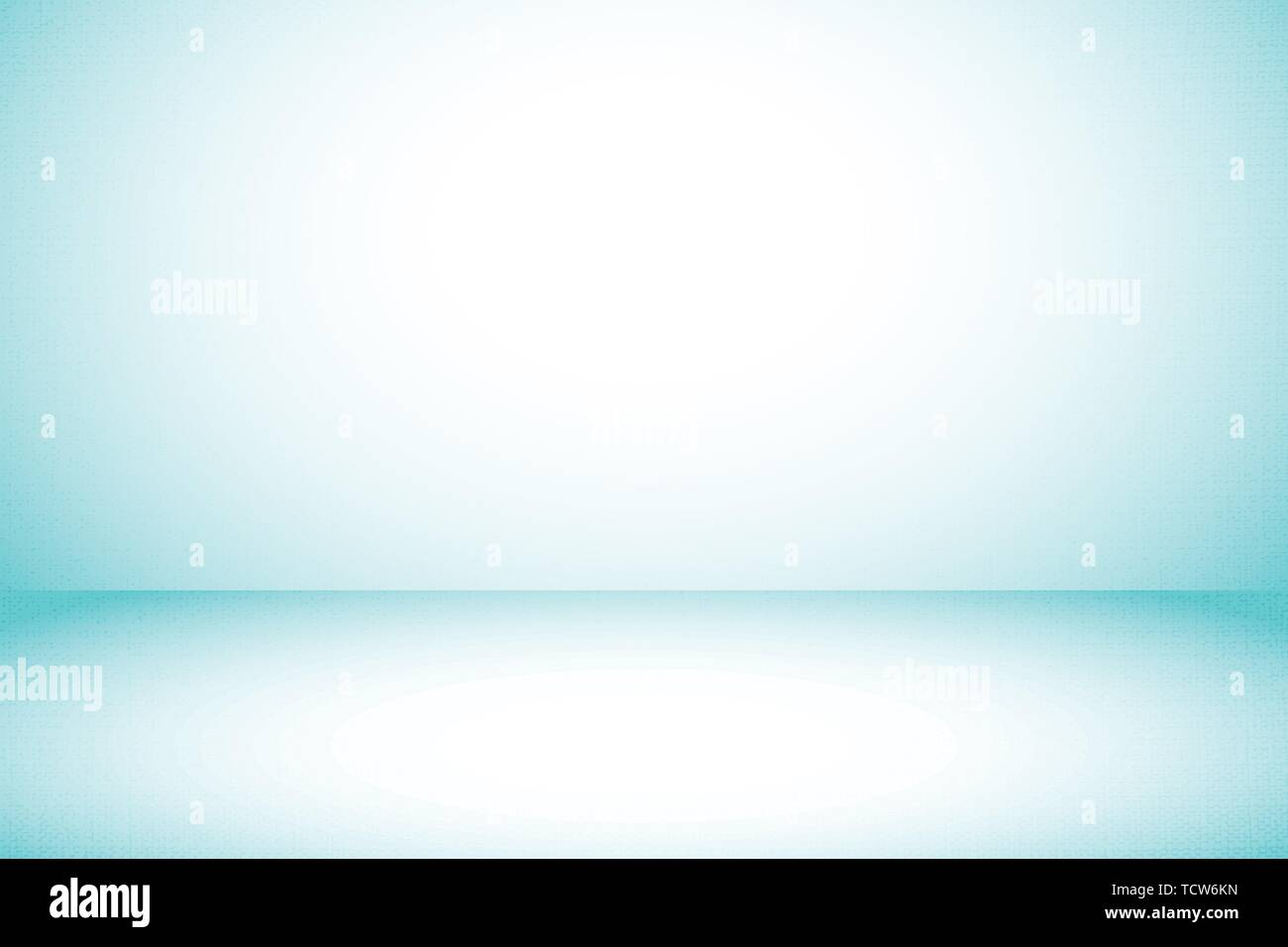 Simple blue studio fabric background used as gradient display your products montage design backdrop - Stock Vector